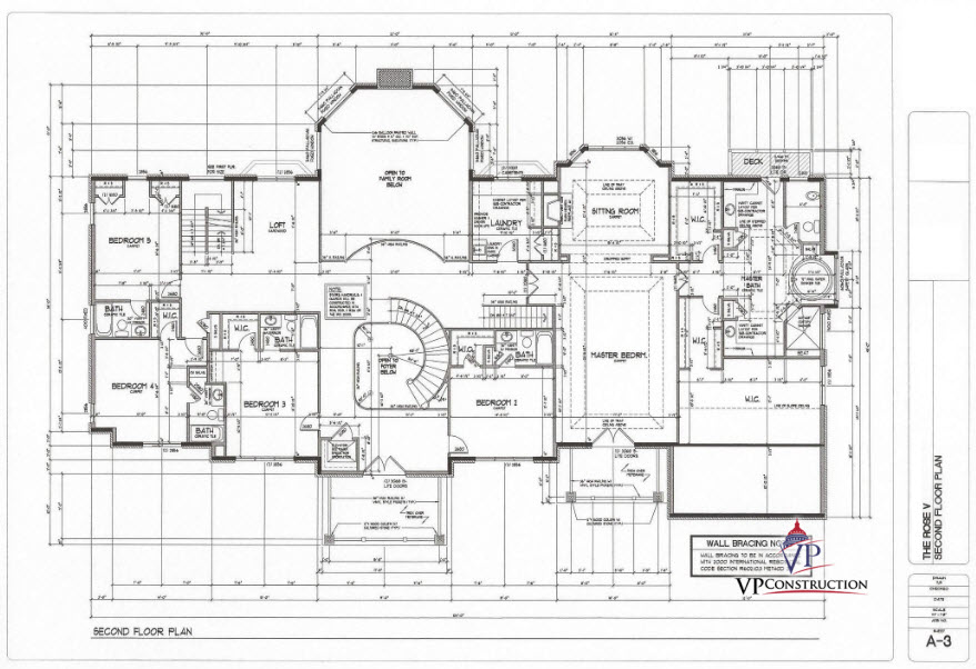 Custom Home 11000 sqFt The Rose V Model (5)