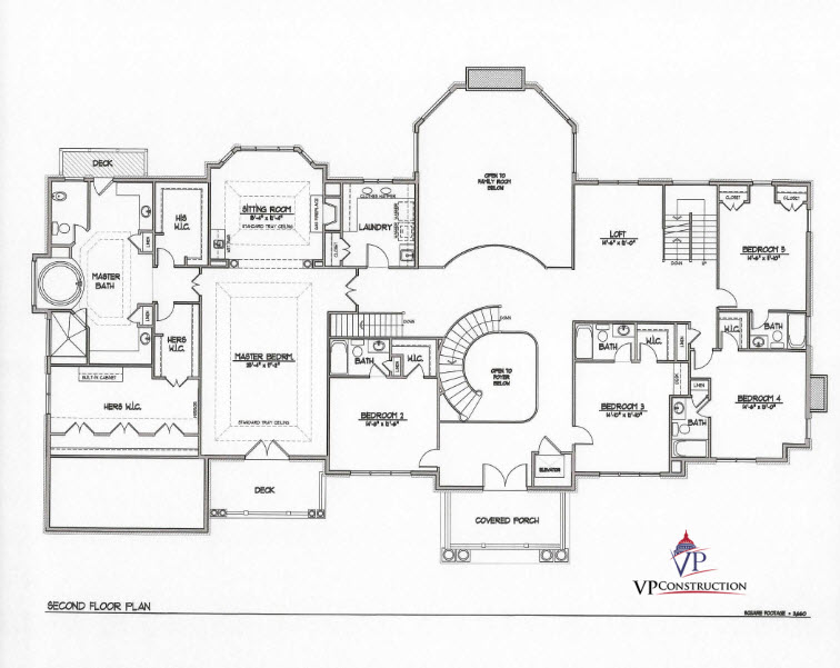 Custom Home 11000 sqft The Rose IV Model  (5)