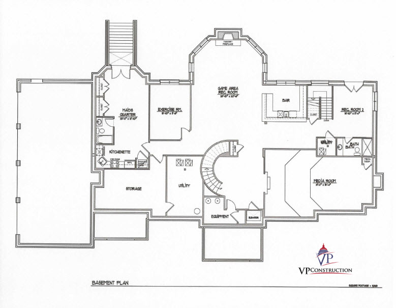Custom Home 11000 sqft The Rose IV Model  (7)