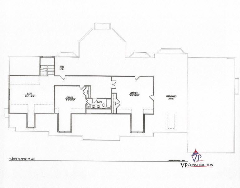 Custom Home 12800 sqFt The Rose II Model  (7)