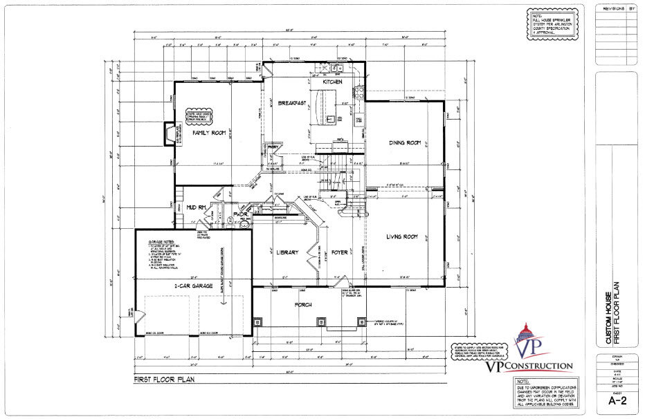 Custom Home 6700 sqFt The Arlington II Model (5)
