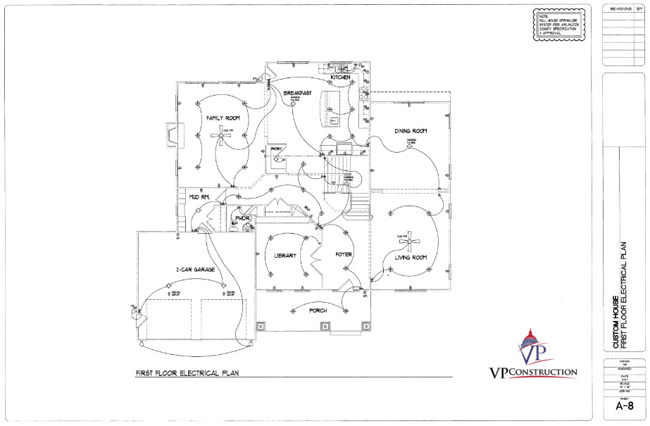 Custom Home 6700 sqFt The Arlington II Model (9)