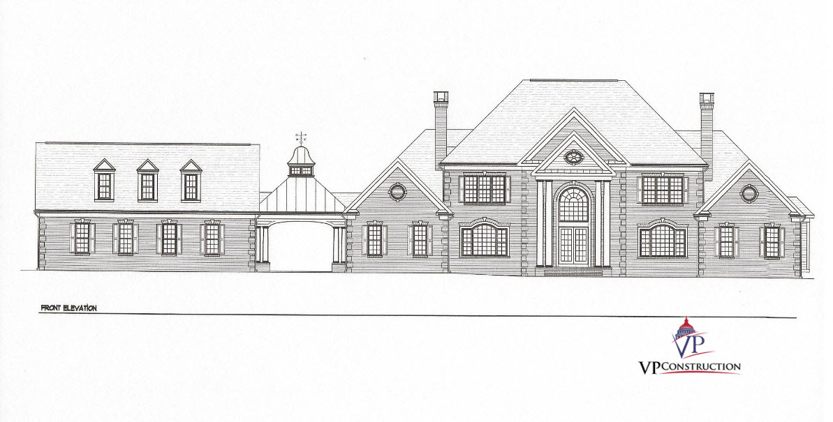 Custom Home 7000 sqFt The Thomas Model (1)