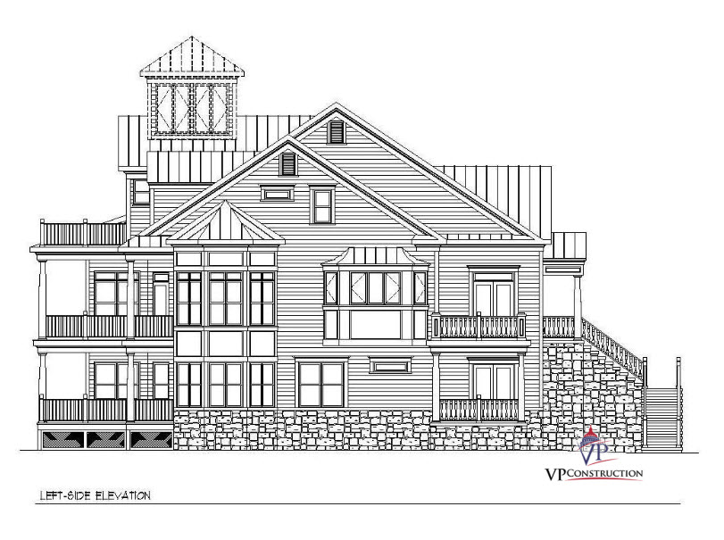 Custom Home Coastal 5000 sqft The Jane Model (3)