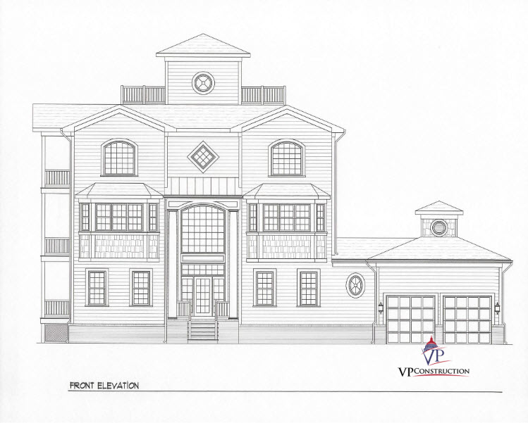 Custom Home Coastal 5800 sqFt The Timothy II Model (1)