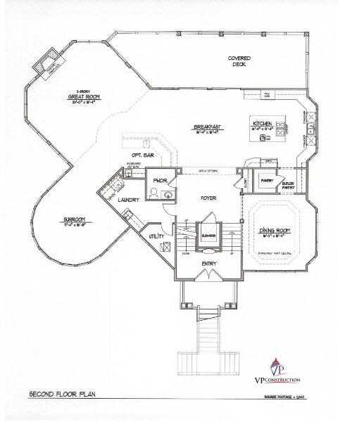 Custom Home Coastal 6000 sqFt The Catherine Model (7)