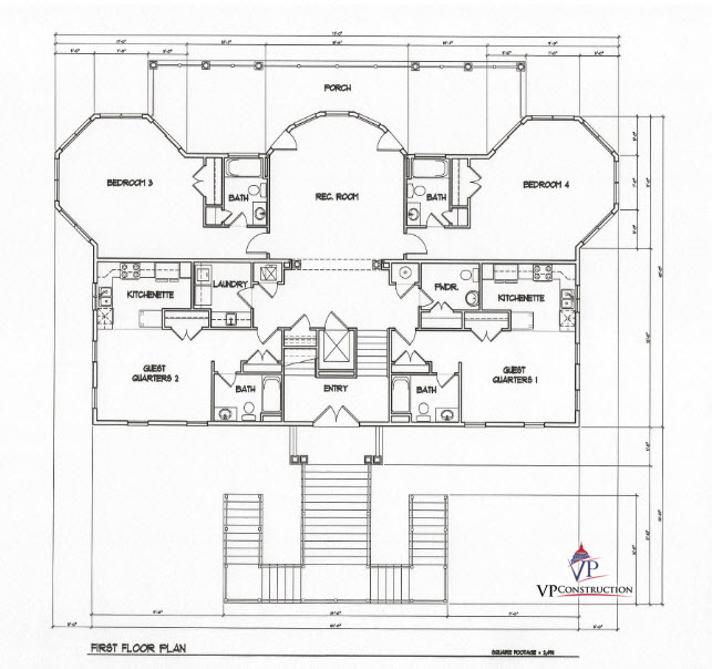 Custom Home Coastal 7200 sqFt The Timothy I Model (4)