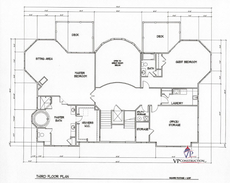 Custom Home Coastal 7200 sqFt The Timothy I Model (6)