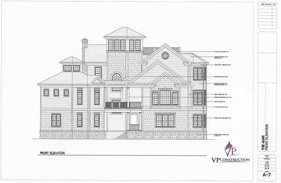Custom Home Coastal 7800 sq ft The Joan Model (1)