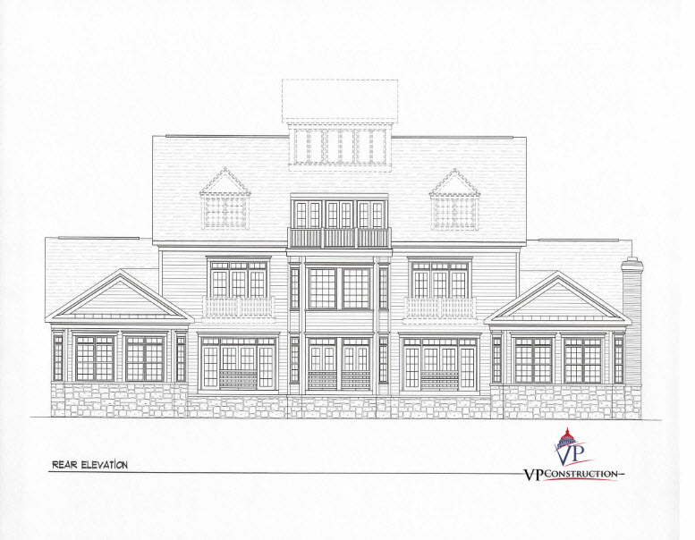Custom Home Coastal 8000 sqFt The Grace Model (6)
