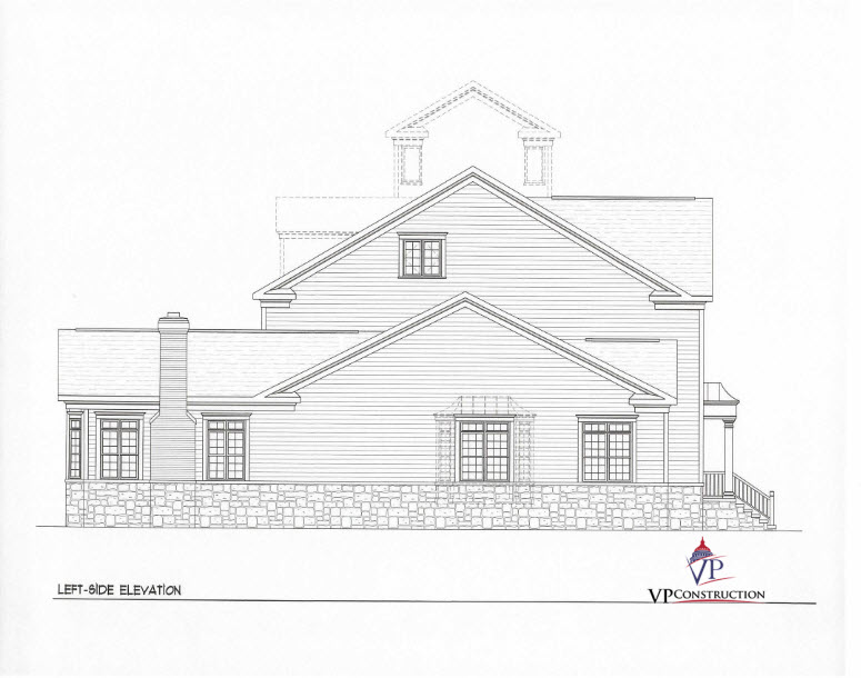 Custom Home Coastal 8000 sqFt The Grace Model (7)