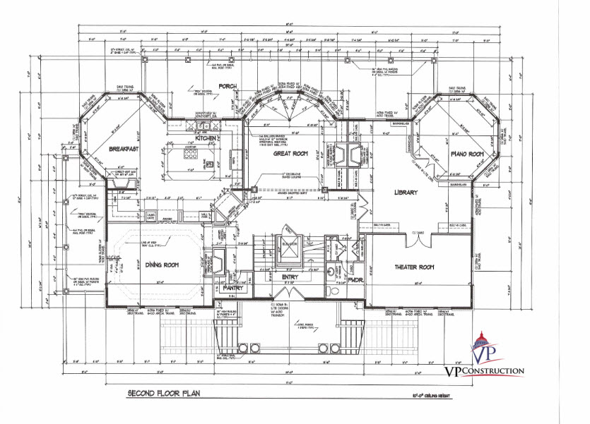 Custom Home Coastal 9000 sqFt The Christina II Model (6)